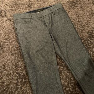 BANANA REPUBLIC SLOAN PANTS Grey/charcoal